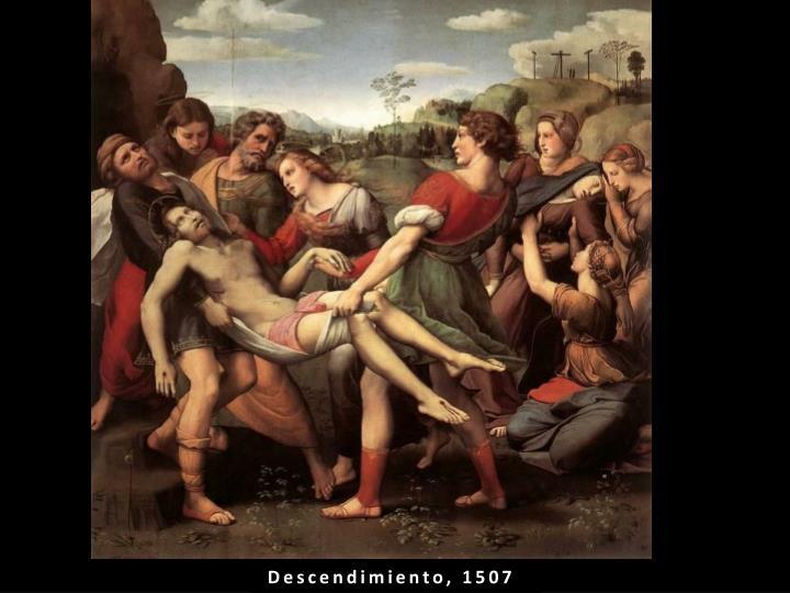 Descendimiento, 1507
