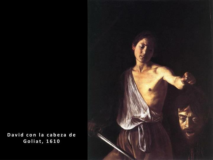 David con la cabeza de Goliat, 1610