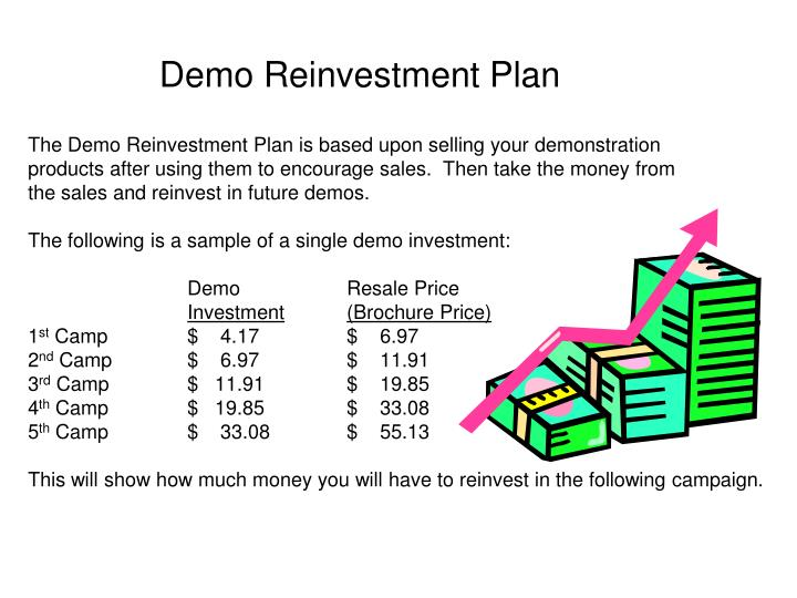 Demo Reinvestment Plan