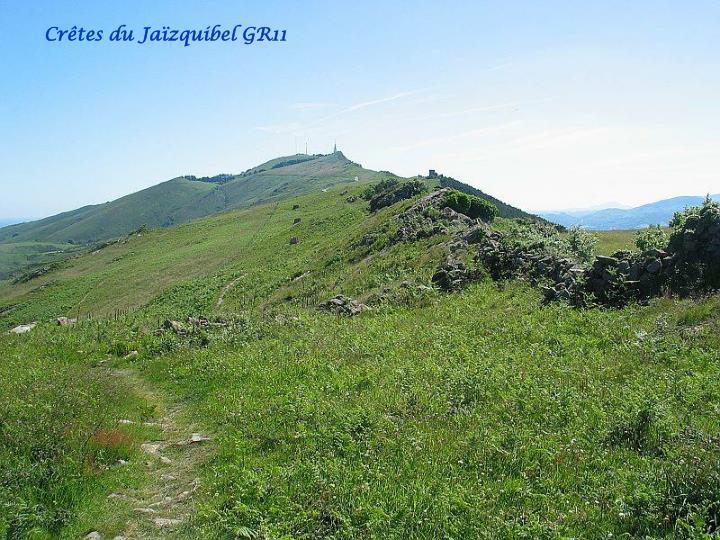 Crêtes du Jaïzquibel GR11