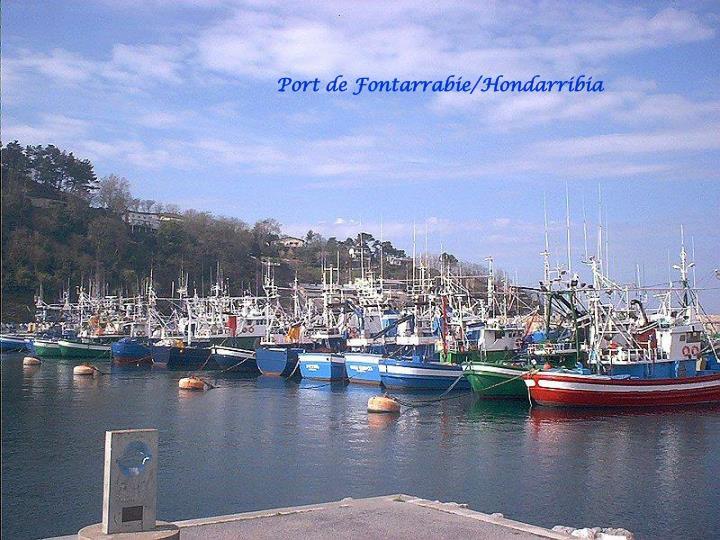 Port de Fontarrabie/Hondarribia