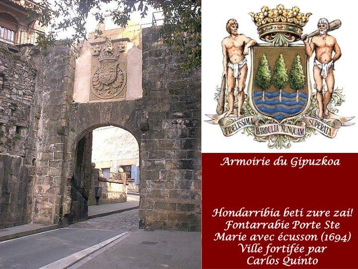 Nous quittons le Gipuzkoa en traversant el Puente Internacional Santiago de Irun sur la Bidassoa frontière entre
