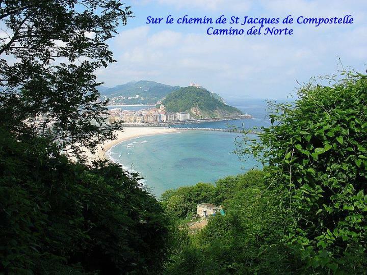 Sur le chemin de St Jacques de Compostelle