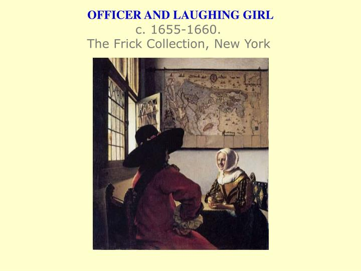 OFFICER AND LAUGHING GIRL