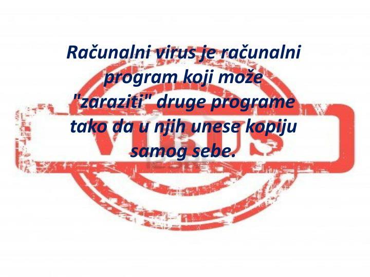 Računalni virus