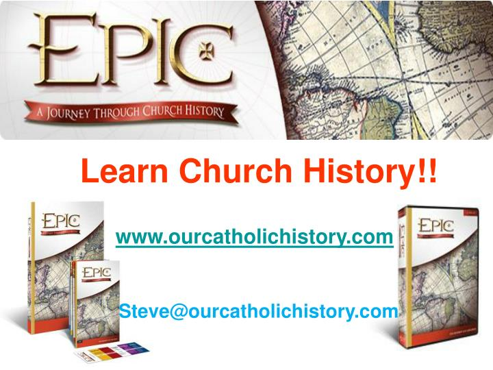 Learn Church History!!