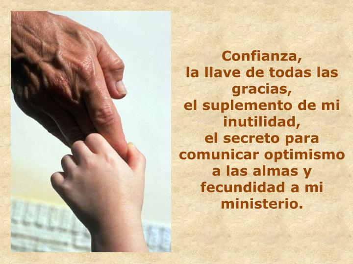 Confianza,