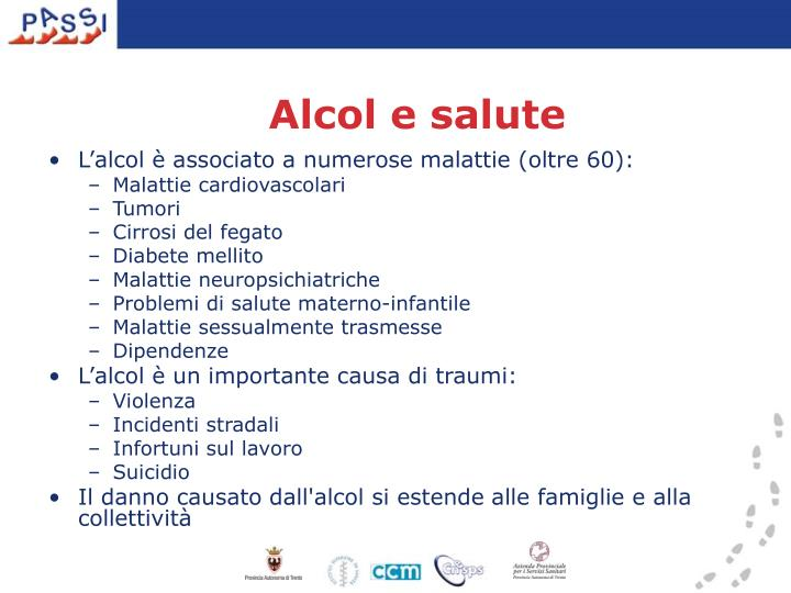 Alcol e salute