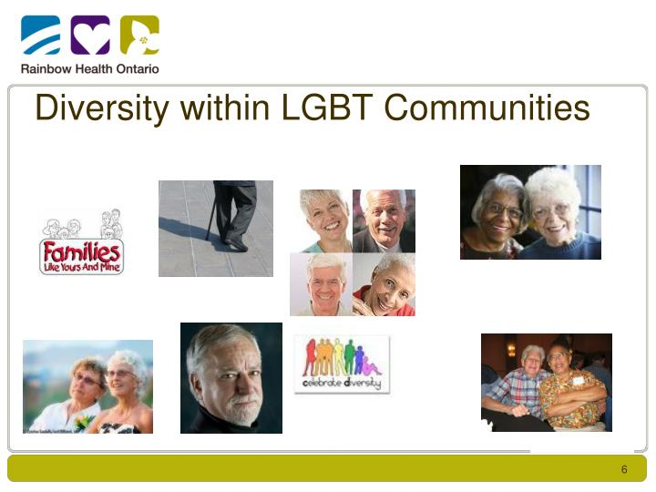 Diversity within LGBT Communities