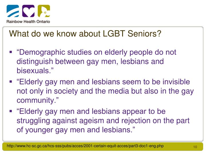 What do we know about LGBT Seniors?