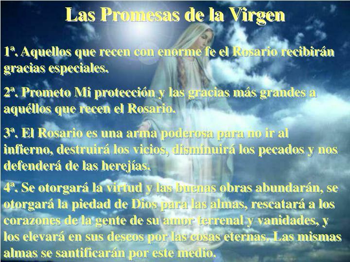 Las Promesas de la Virgen