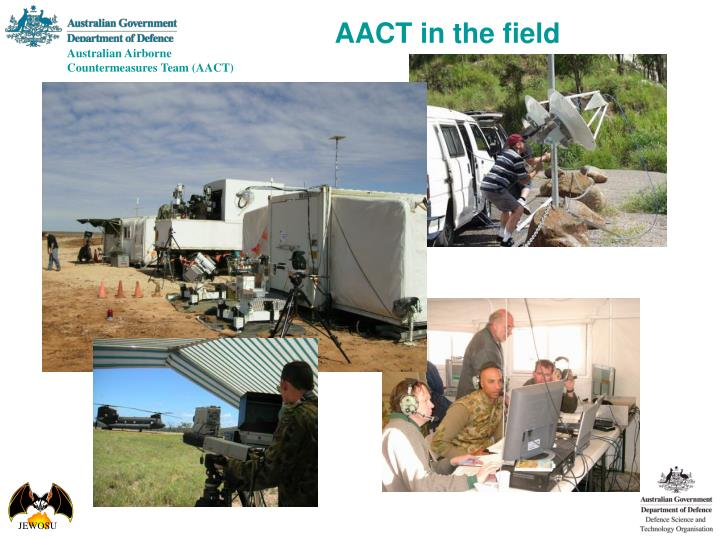 AACT in the field