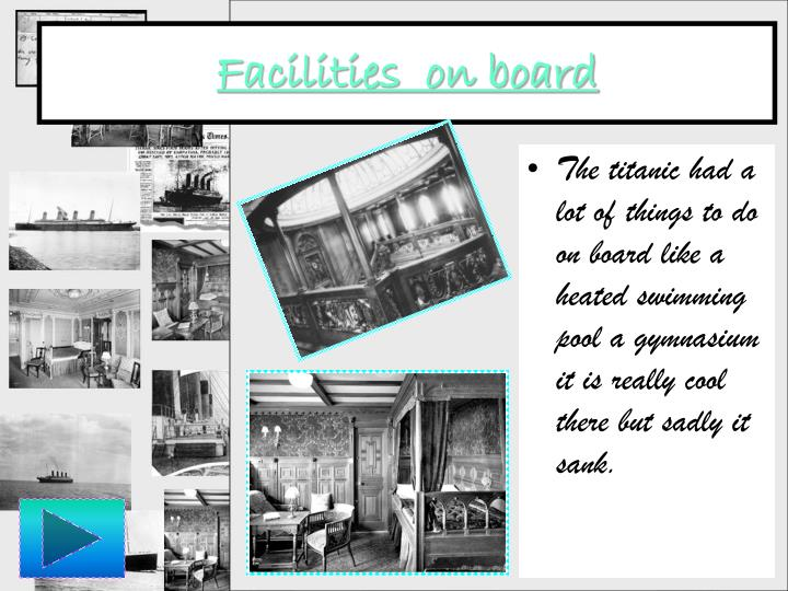 Ppt the titanic powerpoint presentation id 5247144 - Did the titanic have swimming pools ...