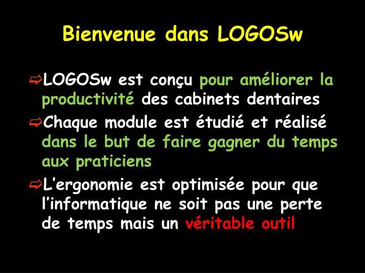 Bienvenue dans LOGOSw