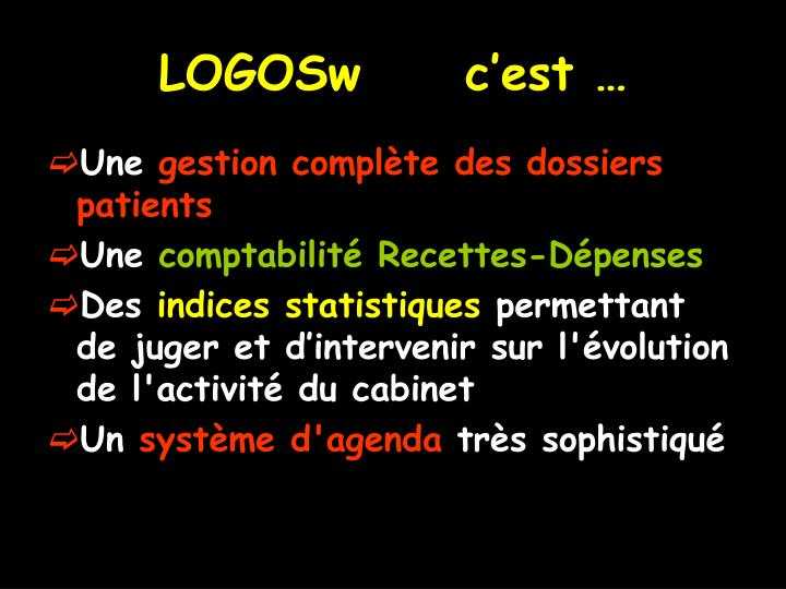 LOGOSw     c'est …