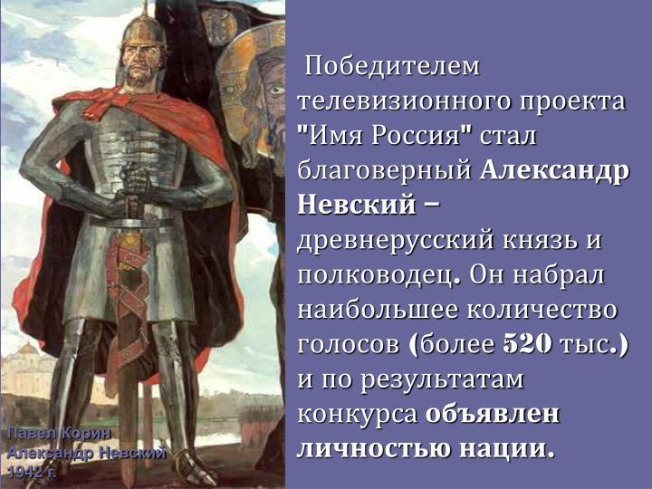 """Победителем телевизионного проекта """"Имя Россия"""" стал благоверный"""