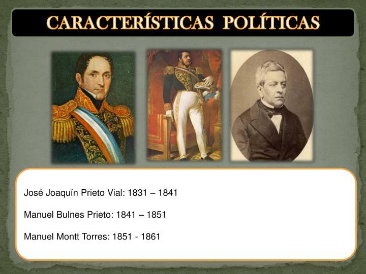 CARACTERÍSTICAS  POLÍTICAS