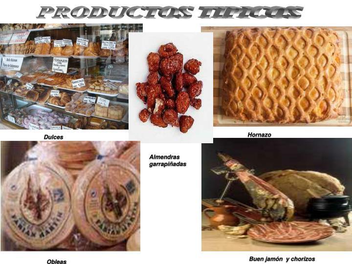 PRODUCTOS TIPICOS