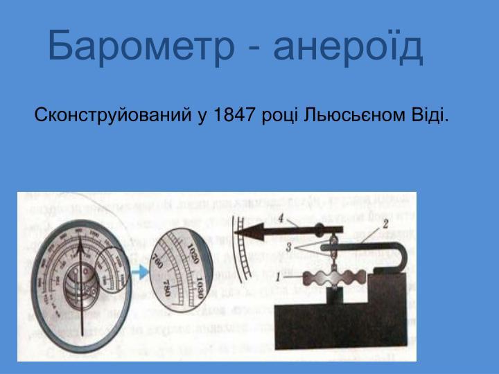 Барометр - анероїд