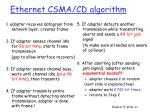 ethernet csma cd algorithm