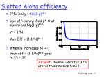 slotted aloha efficiency1