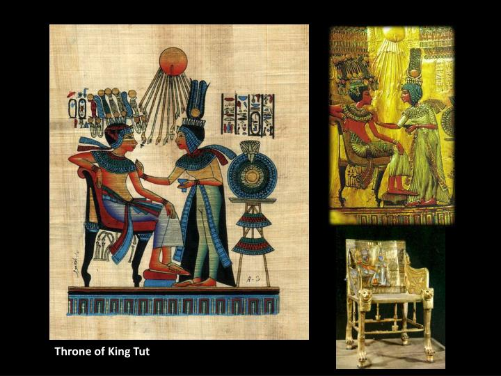 Throne of King Tut