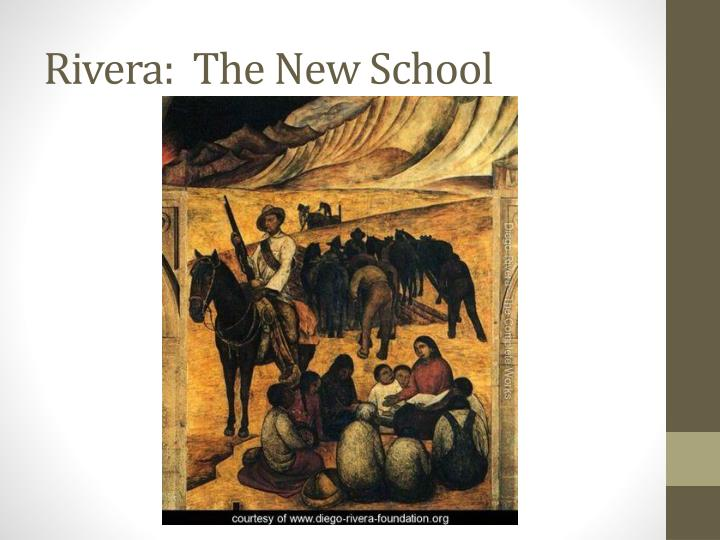 Rivera:  The New School
