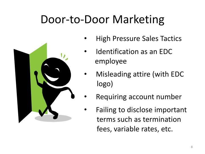 Door-to-Door Marketing