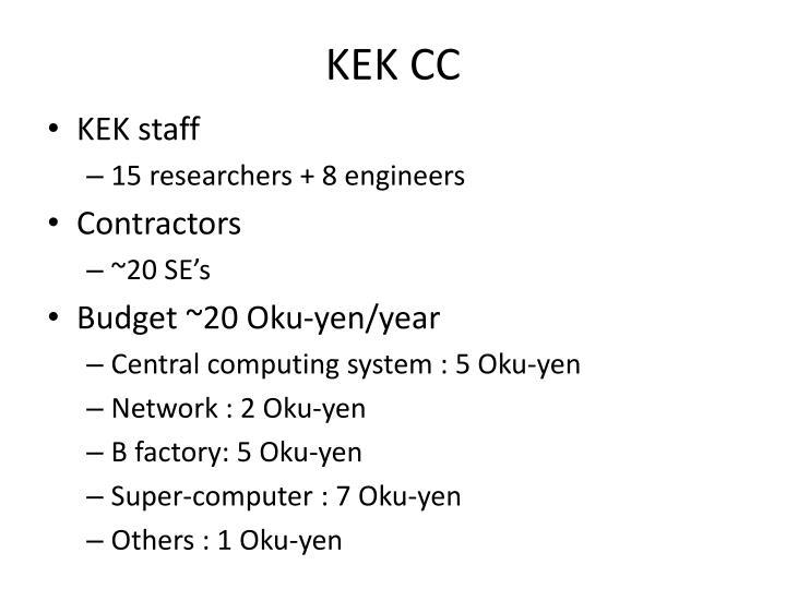KEK CC