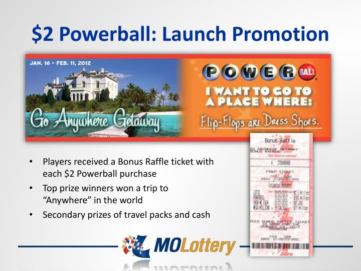 $2 Powerball: Launch Promotion