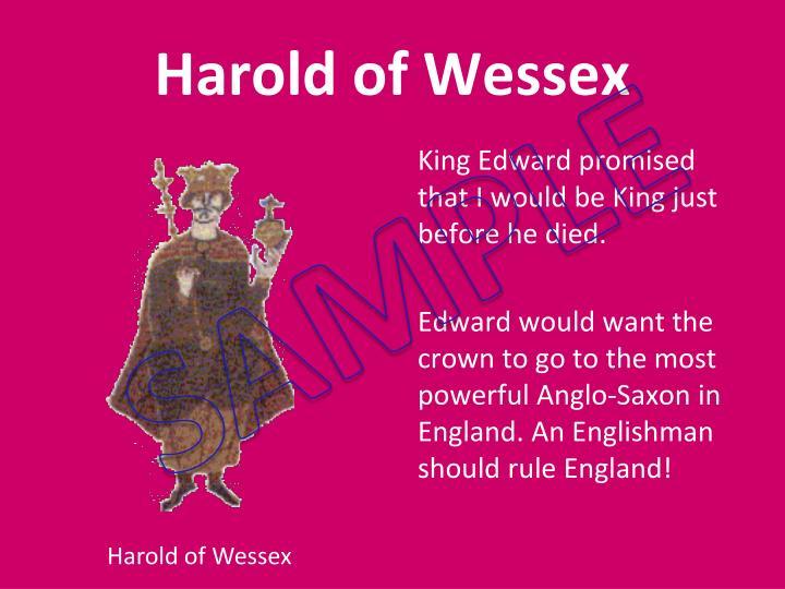 Harold of Wessex