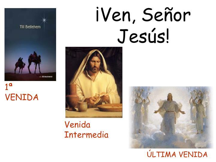 ¡Ven, Señor Jesús!