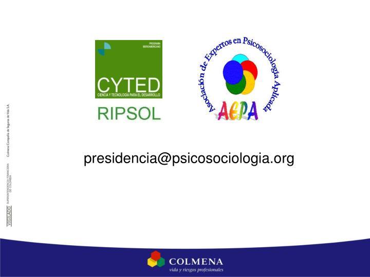presidencia@psicosociologia.org