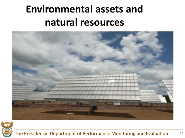 Environmental assets and