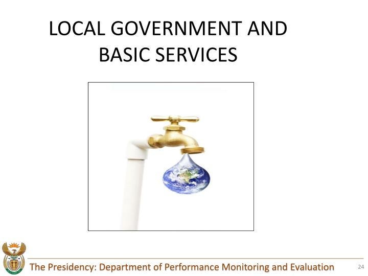 LOCAL GOVERNMENT AND