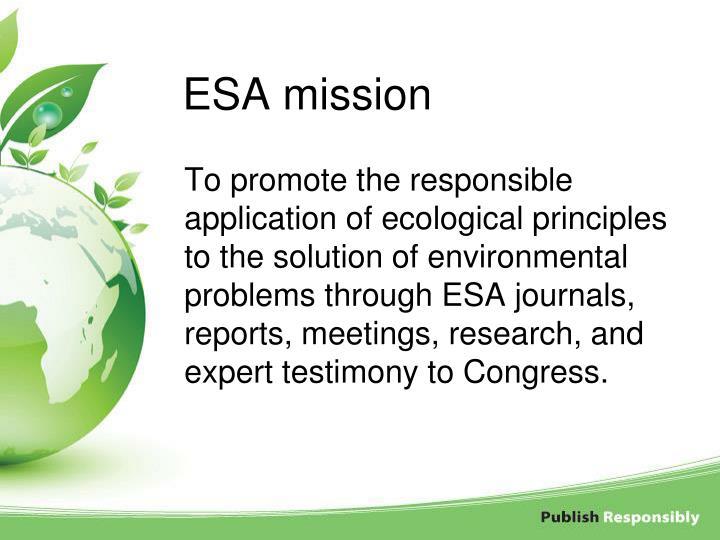 ESA mission