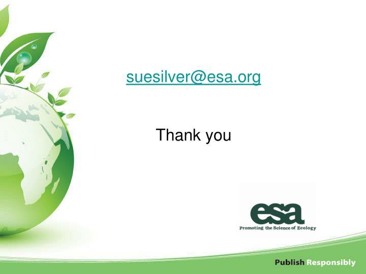 suesilver@esa.org
