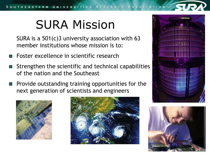 SURA Mission