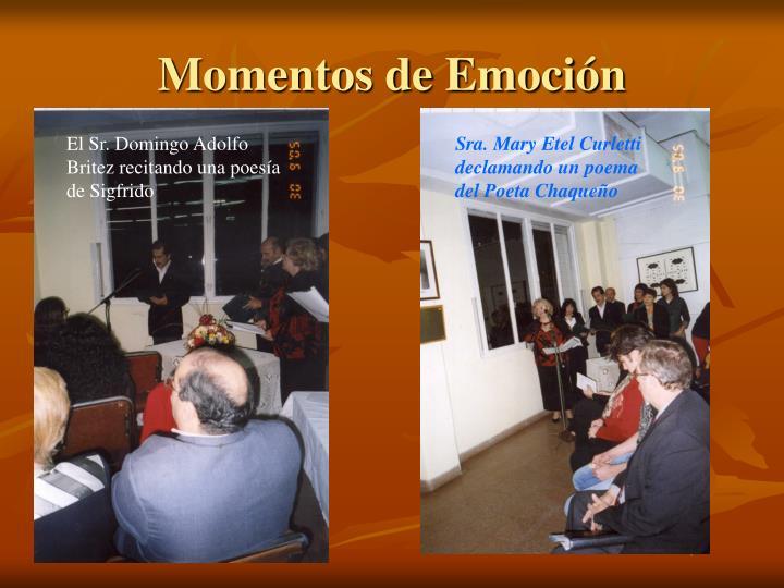 Momentos de Emoción