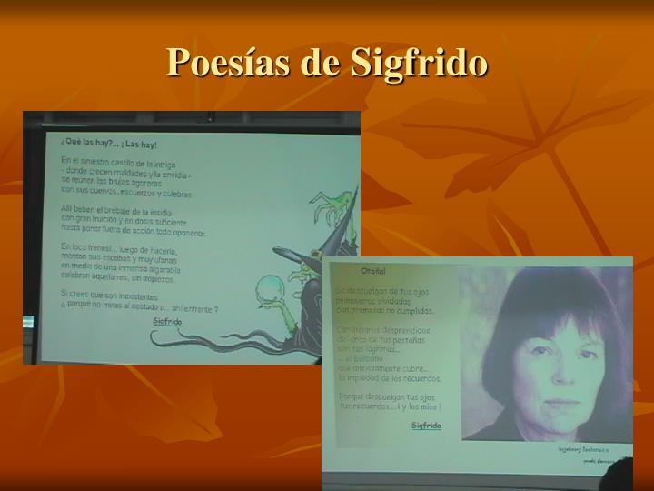 Poesías de Sigfrido