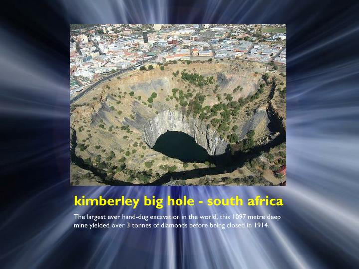 kimberley big hole - south africa
