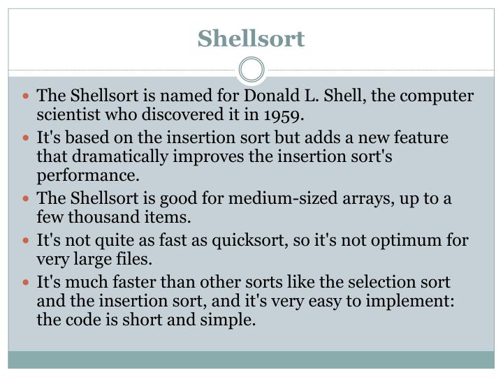 Shellsort