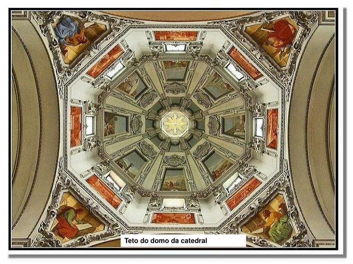 Teto do domo da catedral