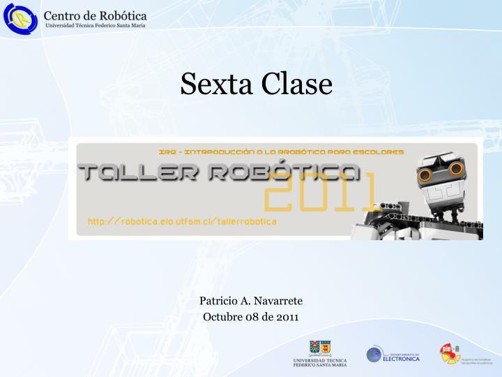 Sexta Clase