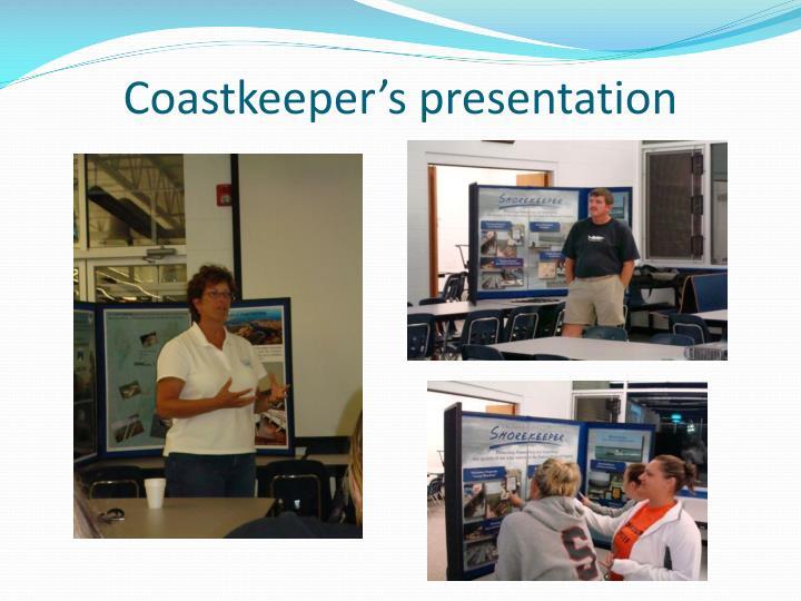 Coastkeeper's