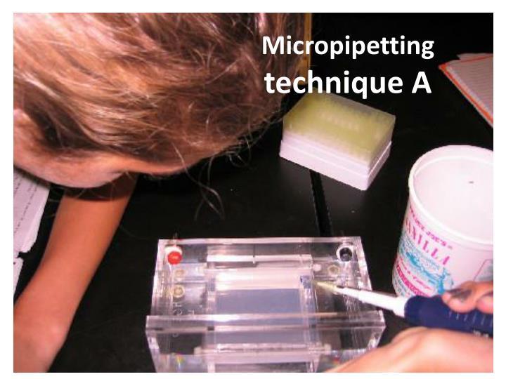 Micropipetting