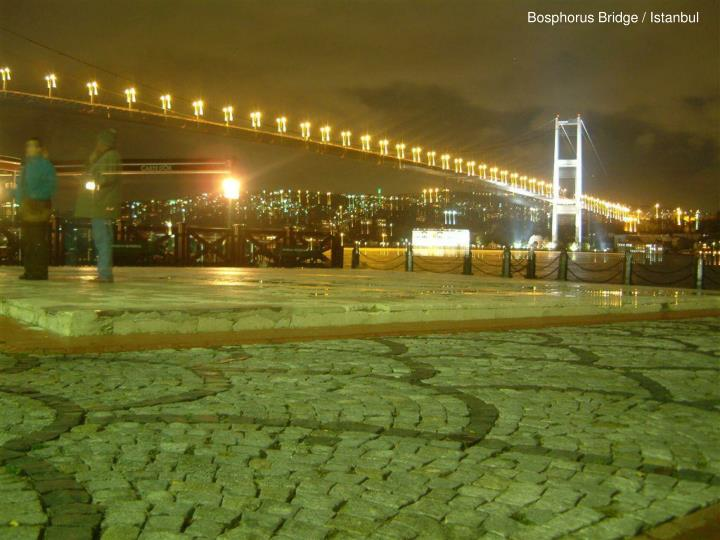 Bosphorus Bridge / Istanbul