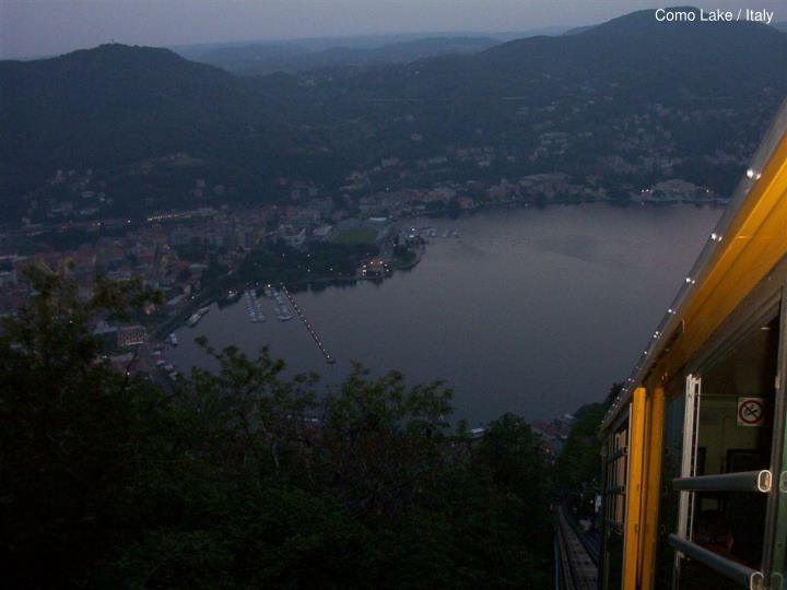 Como Lake / Italy