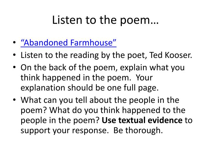 Listen to the poem…