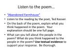 listen to the poem